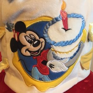 Disney Accessories Land Birthday Cake Hat Candle Lights Poshmark